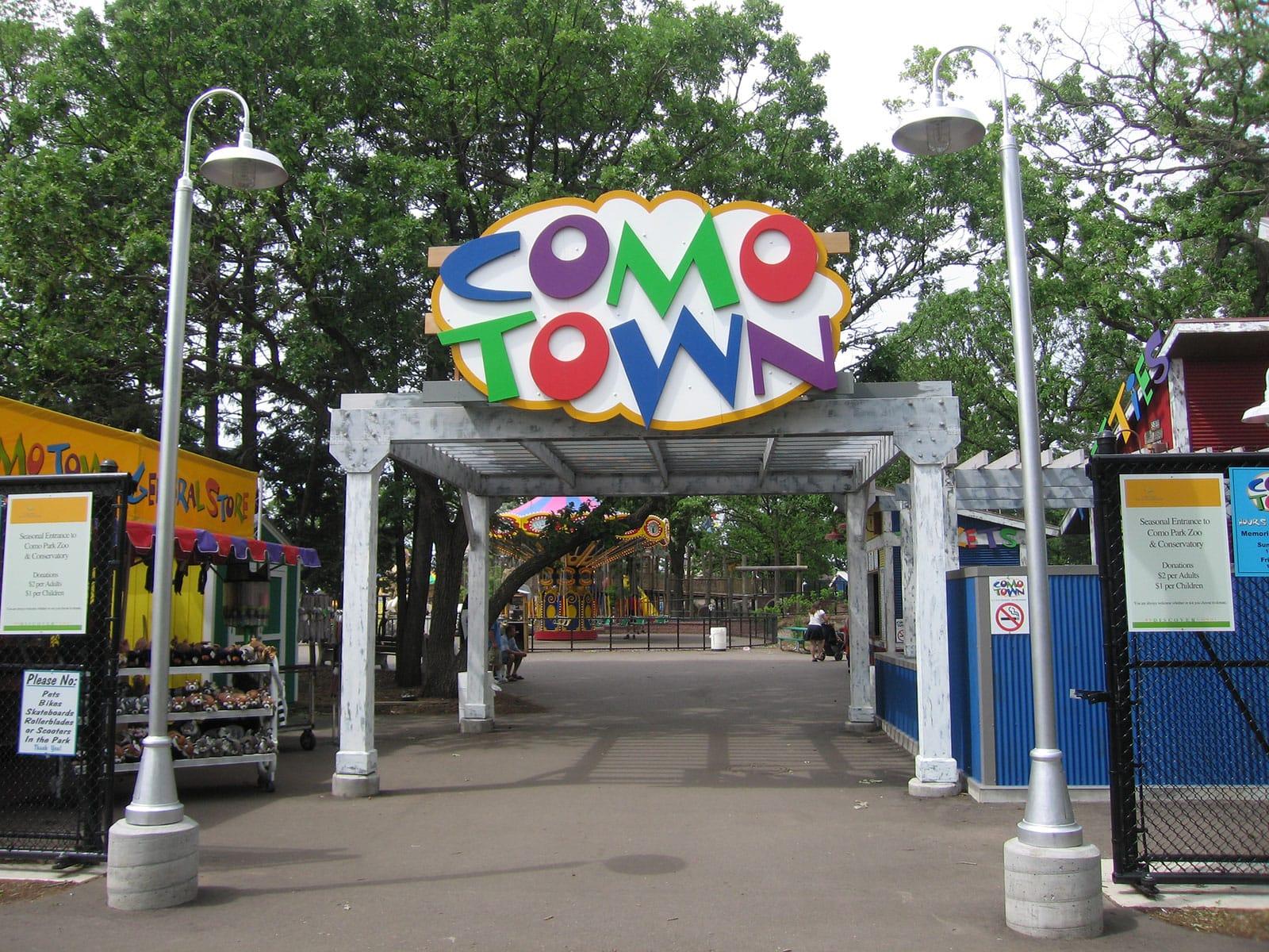coaster trips: 2006: valleyfair, como town, nickelodeon universe