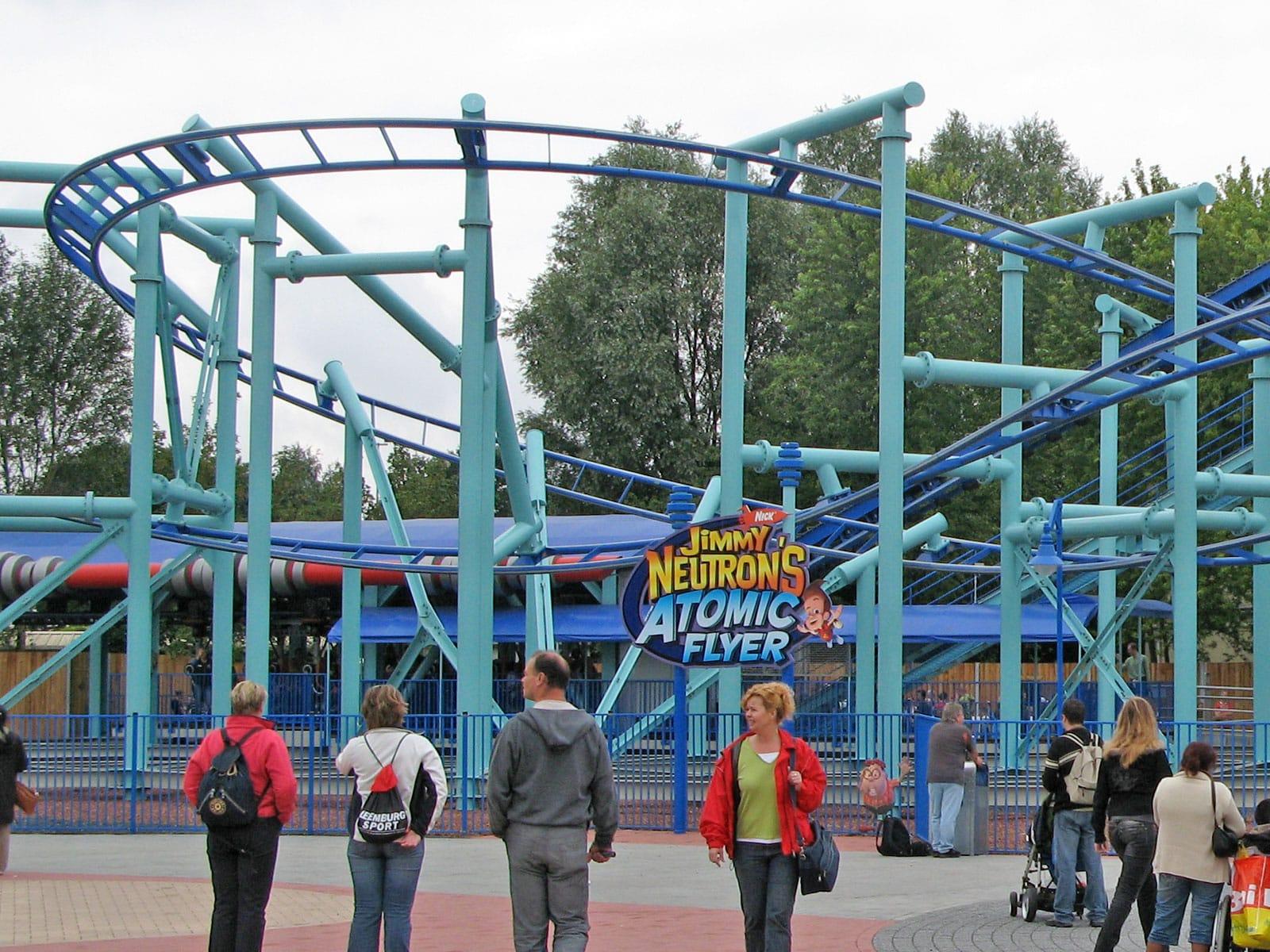 Coaster Trips 2007 Waarbeek Movie Park Germany Toverland