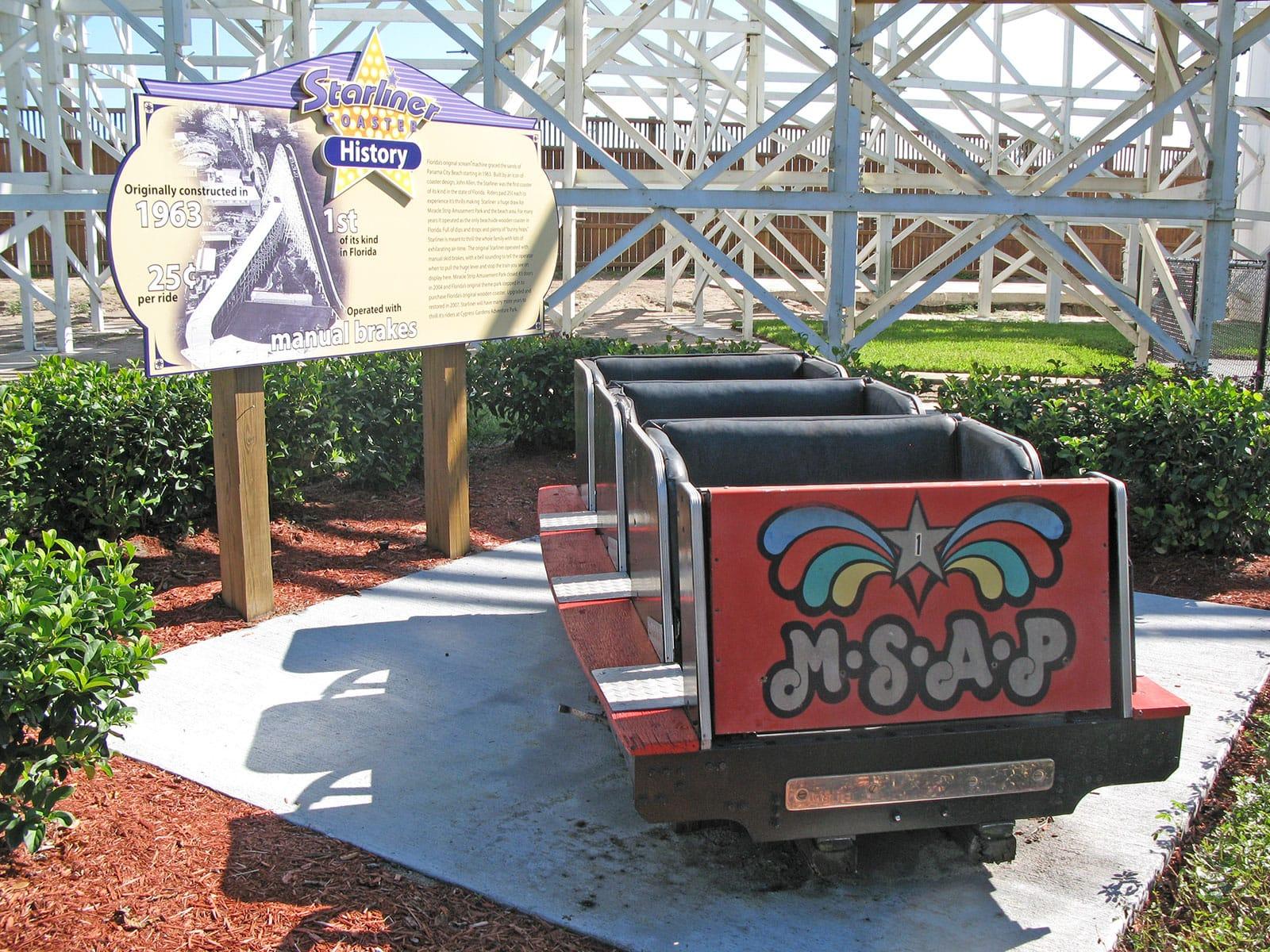 Coaster Trips 2007 Legoland Florida Uncle Bernies Theme