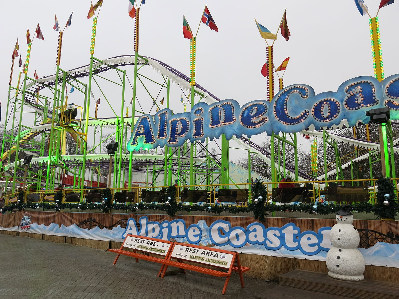 Coaster Trips 2013 Hyde Park Winter Wonderland